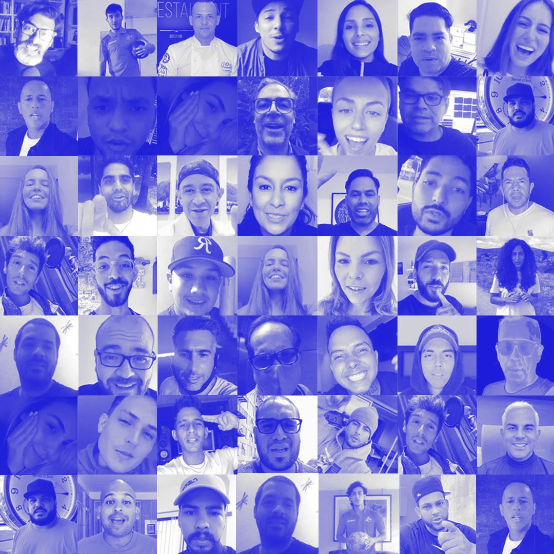 La crisis mundial sanitaria reúne a grandes personalidades del mundo en una Campaña Motivacional