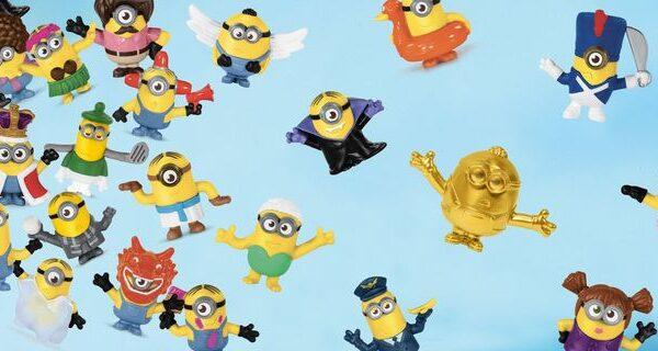 McDonald's presenta la más grande colección de Minions en su Cajita Feliz