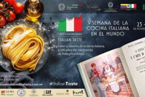 Venezuela celebrará la V Semanade la Cocina Italiana en el Mundo