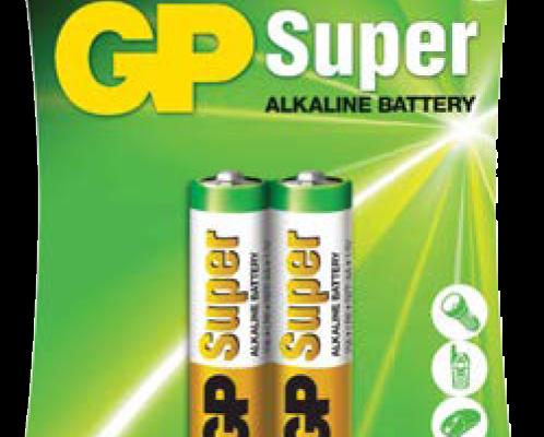 PILAS SÚPER ALCALINAS DE GP BATTERIES, LA MEJOR OPCIÓN PARA TUS APARATOS ELECTRÓNICOS Productos confiables con larga vida útil