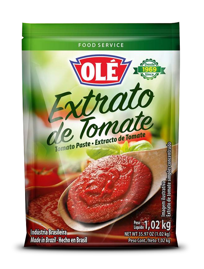 Olé Foods trae para ti sus Salsas de tomates en presentación Food Service