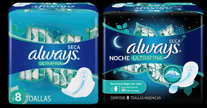 Always® presentó nueva línea de toallas sanitarias  para potenciar la confianza de niñas y mujeres