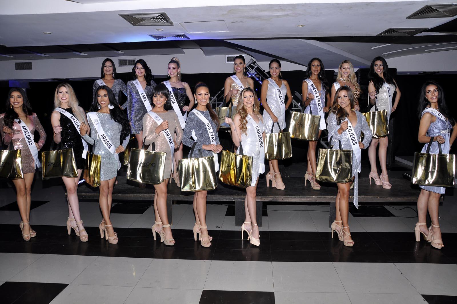 Miss Globalbeauty Venezuela presentó sus 16 candidatas