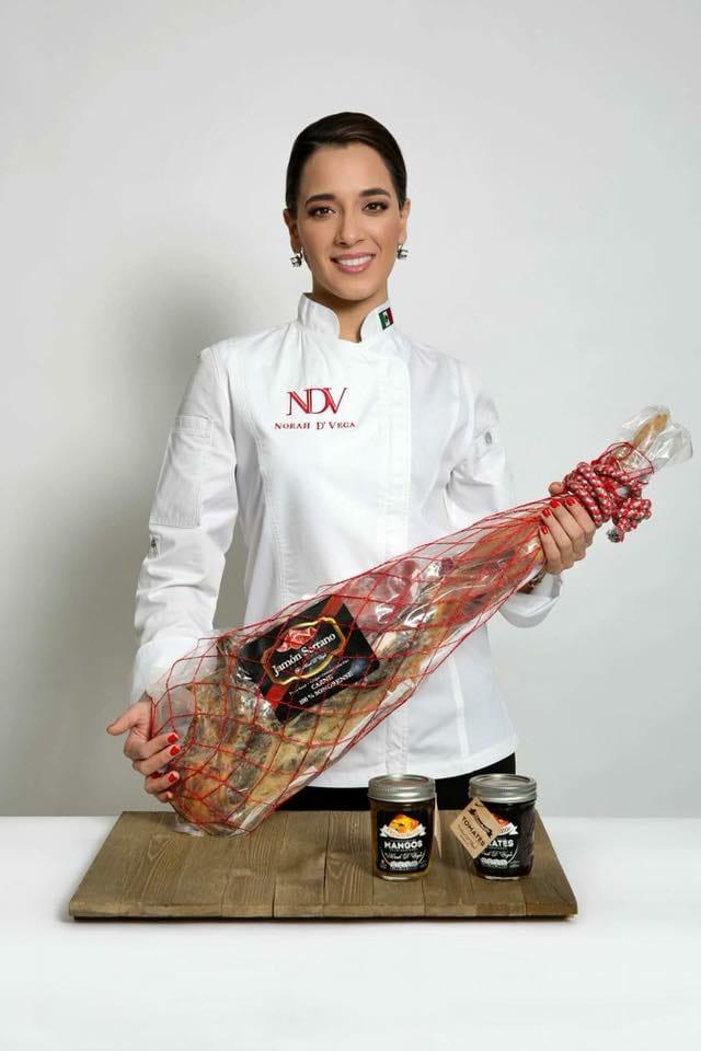 Norah de Vega: una chef apasionada por el jamón ibérico