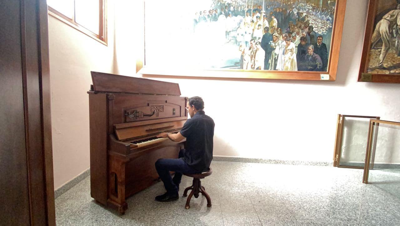 José Agustín Sánchez rindió homenaje musical al Dr. José Gregorio Hernández