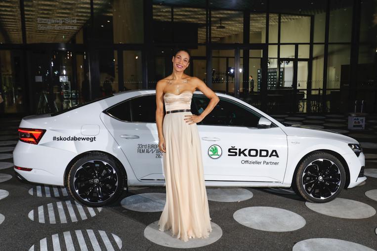 ŠKODA llevó estrellas a los Premios del Cine Europeo