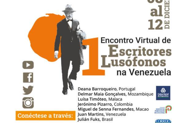 Venezuela se conectará con el patrimonio literario en portugués en el Primer Encuentro Virtual de Escritores lusófonos