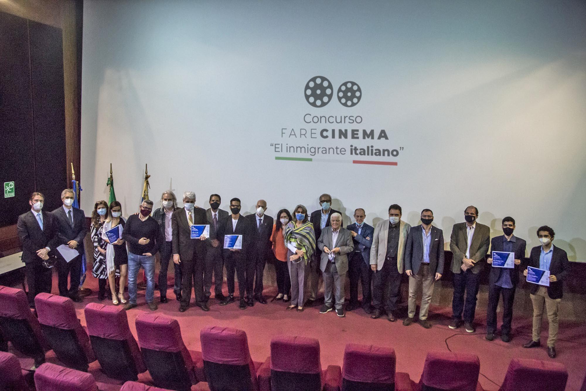 Primera edición de Fare Cinema premió el sentir de la italianidad en Venezuela
