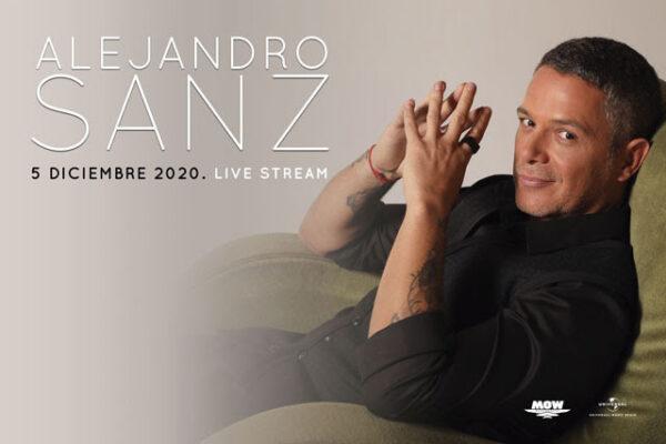 Alejandro Sanz afina detalles del concierto que ofrecerá vía streaming este sábado 5