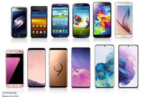 De AMOLED a Space Zoom: una mirada retrospectiva a la historia de innovación de la serie Galaxy S