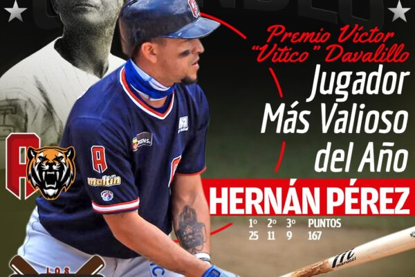 Hérnan Pérez es el MVP de la 2020-2021