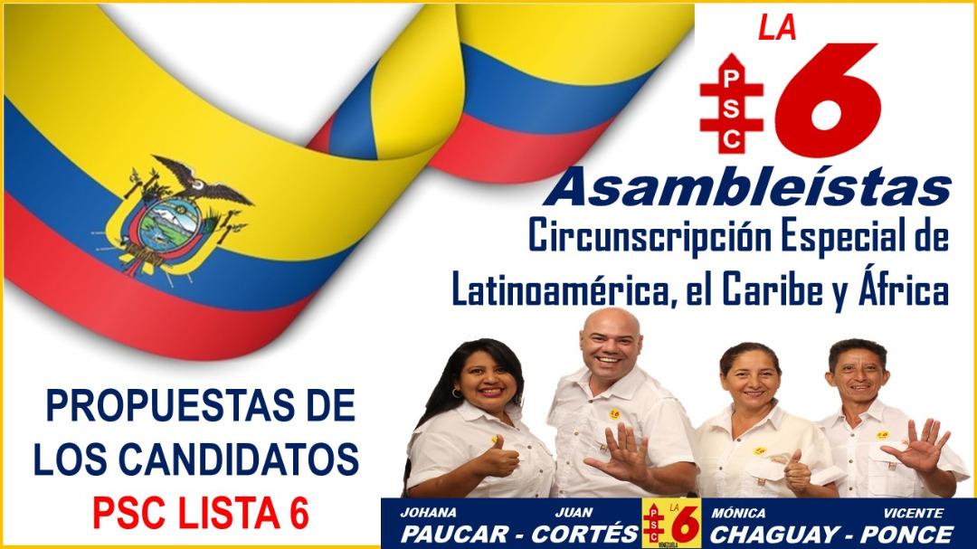 ECUADOR CELEBRA ELECCIONES PRESIDENCIALES Y LEGISLATIVAS 2021 Recibidos