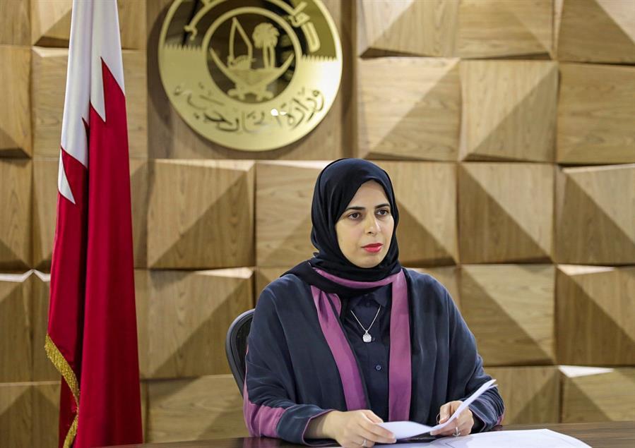 Lolwah Al- Khater, Viceministra de Exteriores de Qatar :  ''Espero que el Mundial sea una buena experiencia y que los fans del fútbol puedan explorar no sólo la cultura qatarí sino la cultura árabe en general''