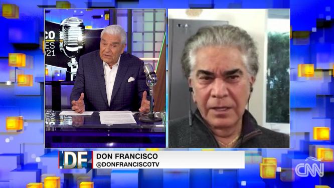 El Puma José Luis Rodríguez describe cómo fue despertar tras su cirugía de trasplante pulmonar en Don Francisco: Reflexiones 2021