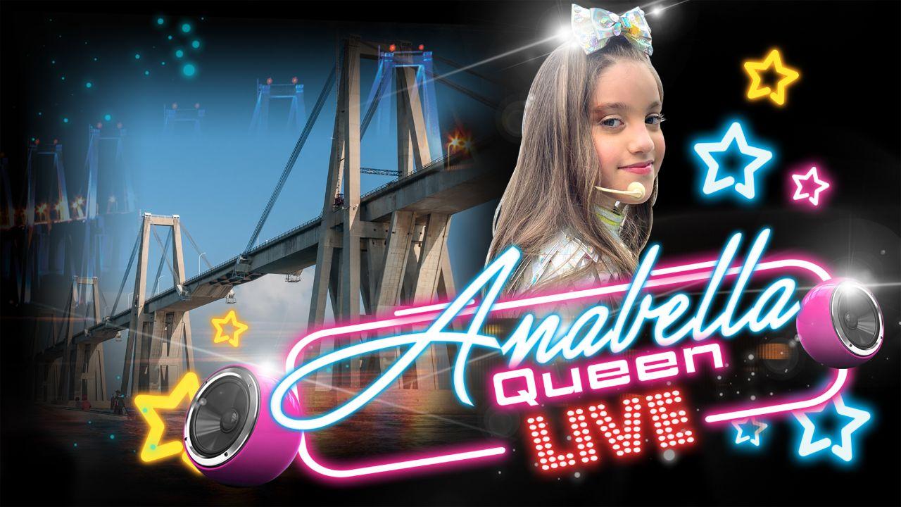 La cantante Anabella Queen en Concierto
