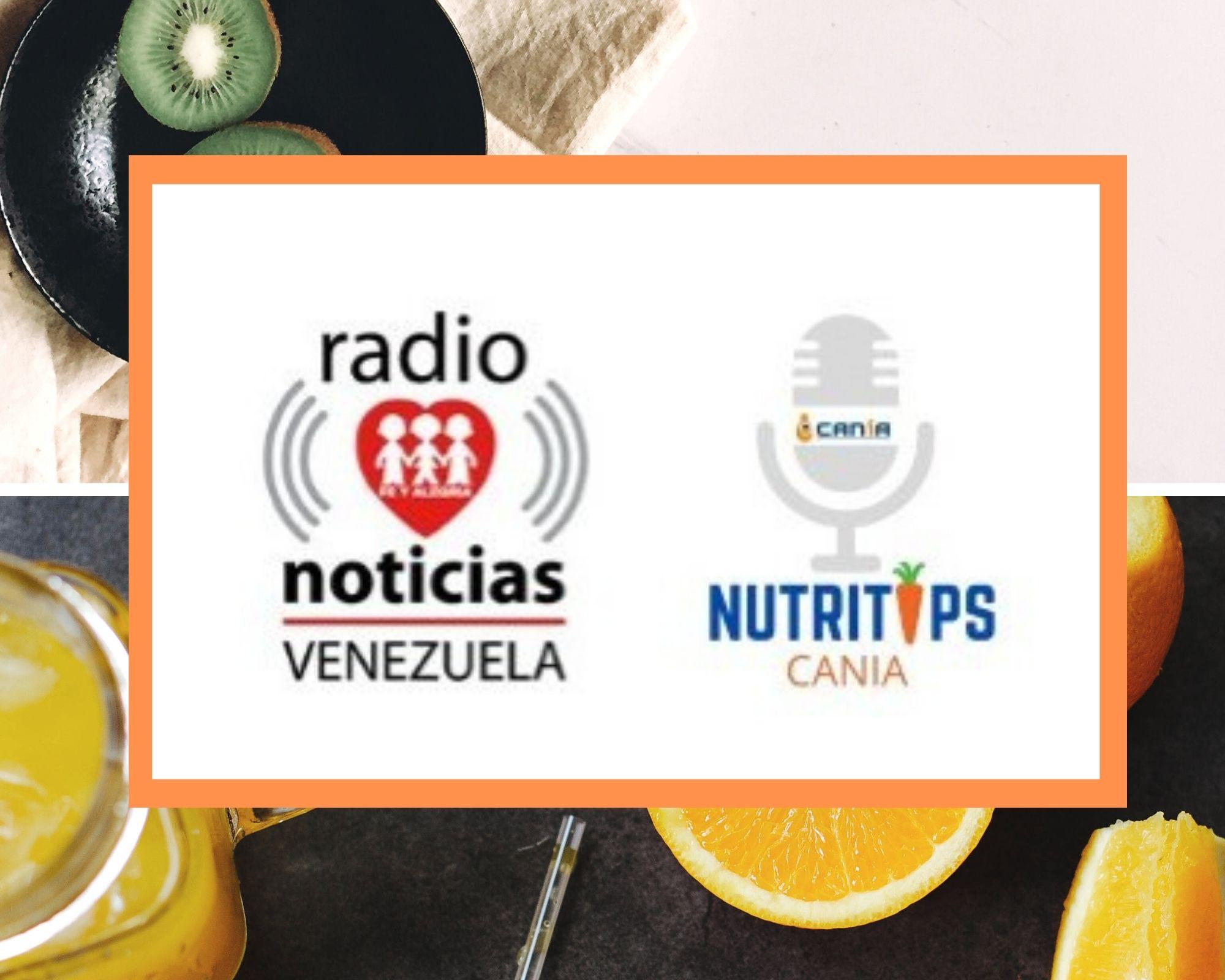 Cania difunde sus nuevos Nutri Tips radiales en alianza con Radio Fe y Alegría