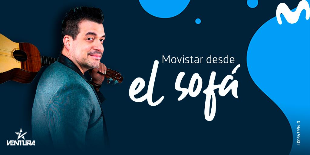 Movistar desde el Sofá estrena temporada 2021 al son del cuatro del cantante Rafael «Pollo» Brito