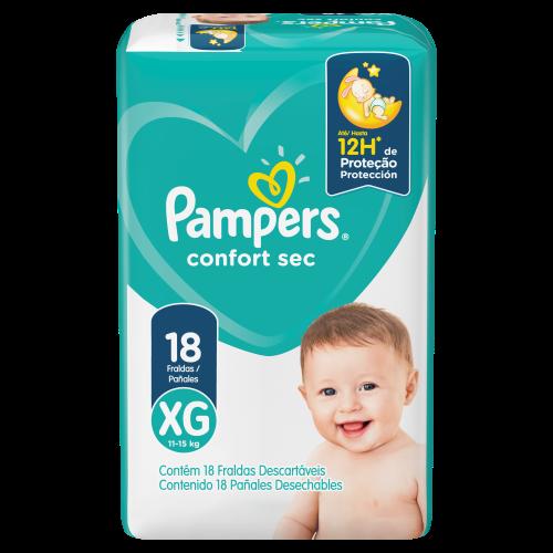 Pampers le brinda noches más secas y frescas a tu bebé