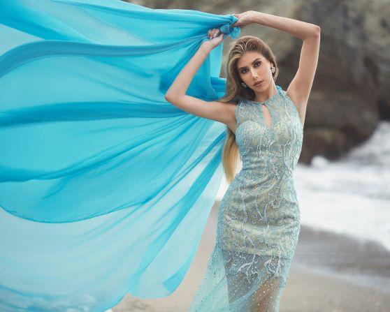 Steffania Rodríguez representa a Venezuela en el Miss Eco International