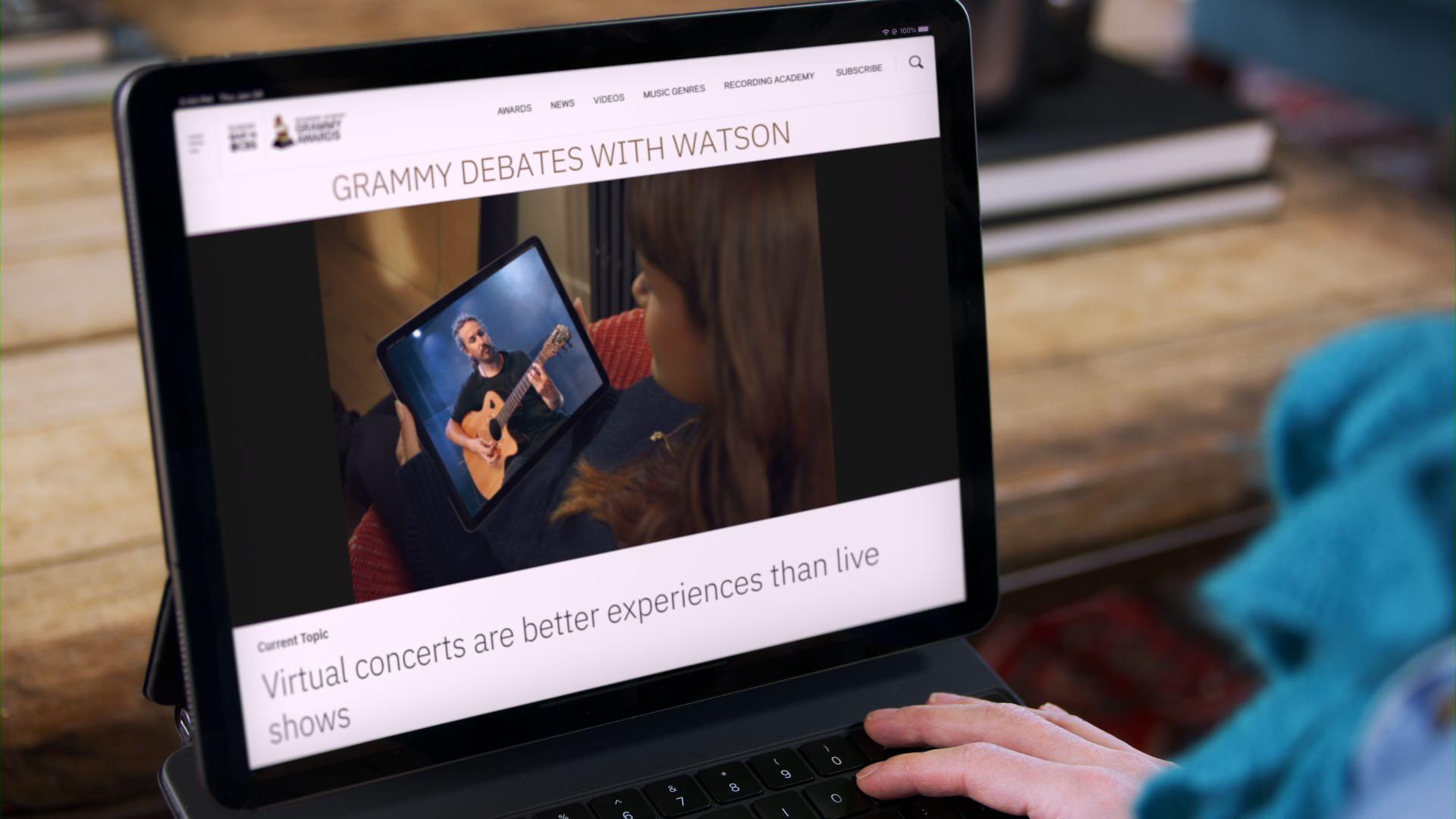 IBM y Recording Academy® estrenan una nueva experiencia para fans impulsada por Watson e IBM Cloud