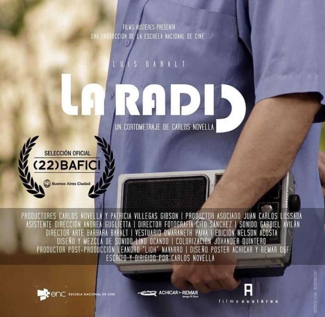 Corto venezolano en festival de cine independiente de Buenos Aires