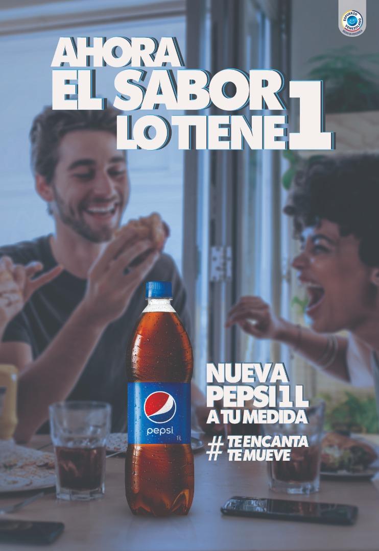 Pepsi amplía su portafolio y ofrece a los consumidores una nueva presentación de 1 litro