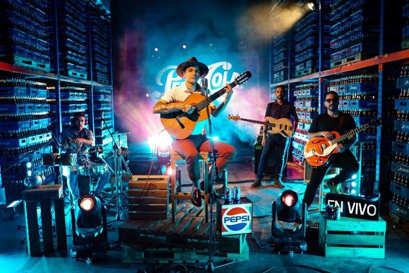 Pepsi fortalece su plataforma musical  con el proyecto Pepsi En Vivo