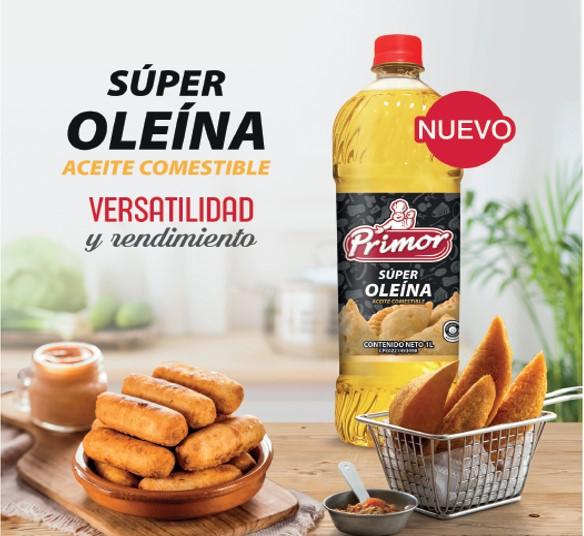 Primor amplía su portafolio y presenta al mercado Súper Oleína