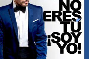 El excelente actor Luis Fernández presenta su monólogo NO ERES TÚ ,SOY YO, via zoom