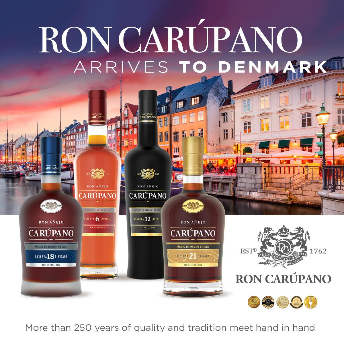 Ron Carúpano, la marca de ron súper premium por excelencia realiza su lanzamiento en Europa