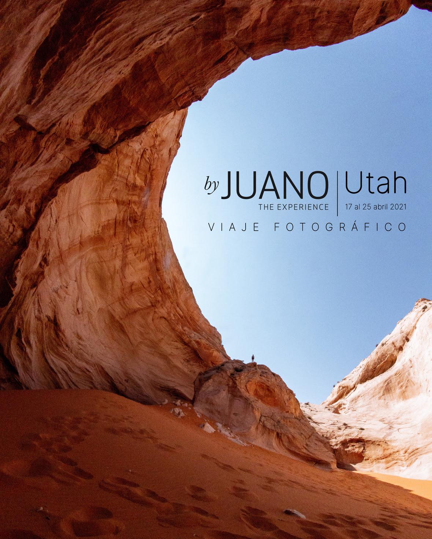 ByJuano te lleva a explorar fotográficamente Utah