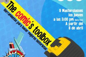 Todo sobre el arte del cómic en nueve sesiones