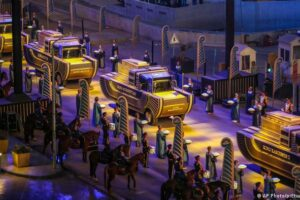 Desfile de los faraones: el majestuoso traslado de las momias y reyes de Egipto por las calles de El Cairo