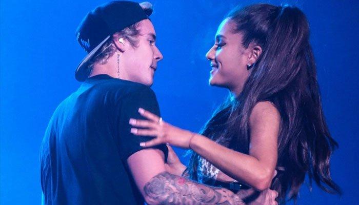 Revelada la colaboración secreta de Ariana Grande con Justin Bieber
