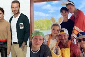 Victoria y David Beckham llevan a la familia al Caribe para una escapada increíble