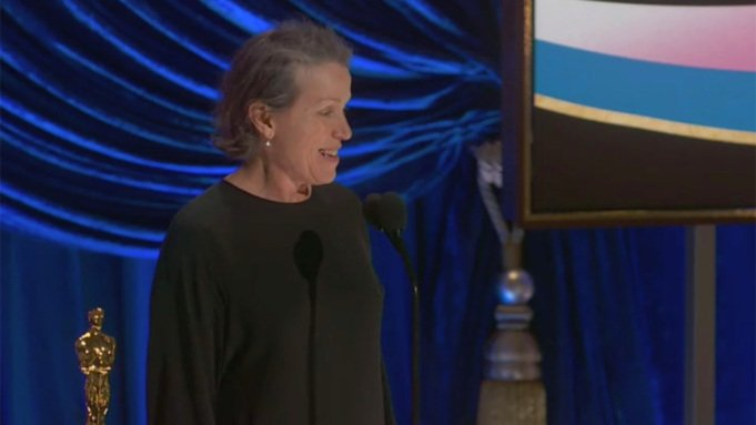 Oscar 2021: Frances McDormand gana el premio a la Mejor Actriz por 'Nomadland'