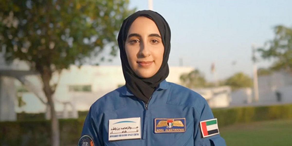Nora al-Matrooshi, de los Emiratos Árabes Unidos, se convierte en la primera mujer árabe astronauta