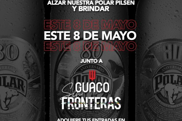 Polar Pilsen se suma al concierto digital de Guaco este 8 de mayo