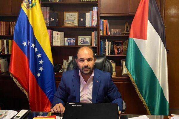 Fadi Alzaben, Embajador del Estado de Palestina en Venezuela: »'En Venezuela me siento como en mi casa»