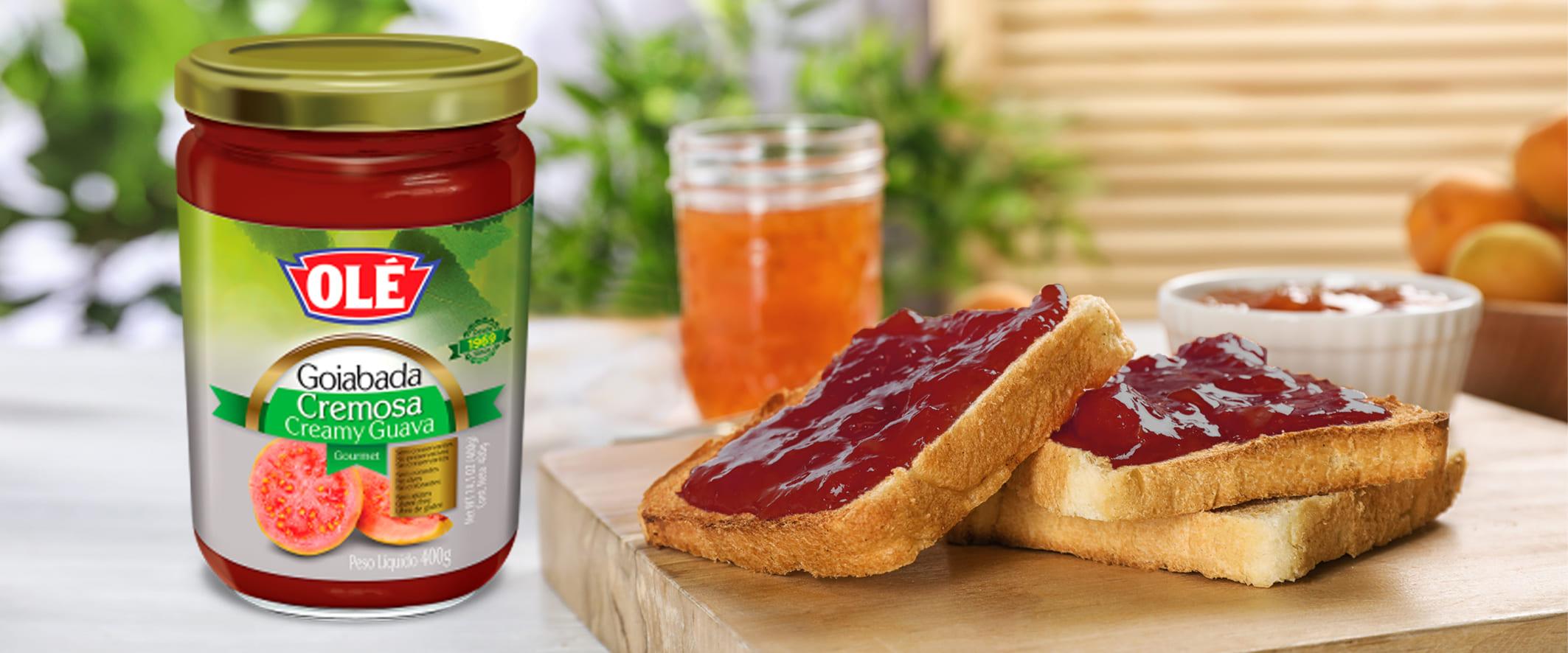 Destapa el auténtico sabor de la fruta con las mermeladas OLÉ