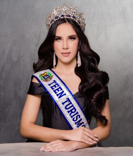 Paola Escalona Teen Turismo Venezuela 2020 una Belleza con Causa