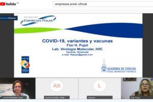 Fundación Empresas Polar promovió la conferencia web COVID-19 variantes y vacunas