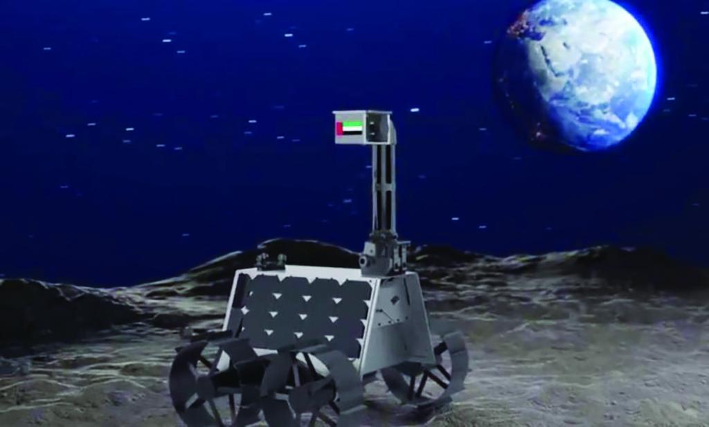Emiratos Árabes Unidos enviará un rover a la Luna en 2022