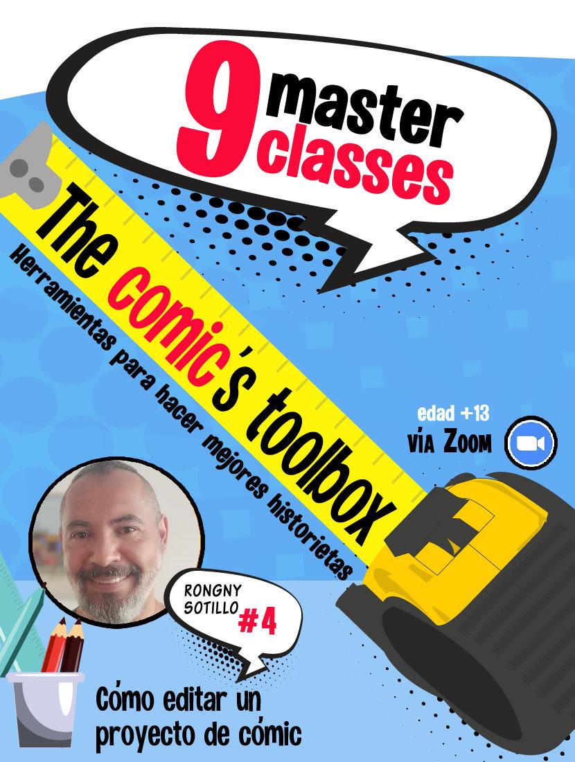 La edición de historietas será el tema central esta semana en The Comic's Toolbox Recibidos