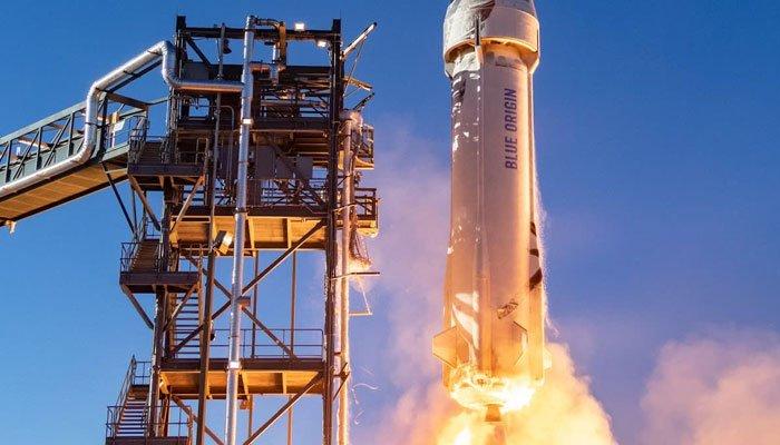 Blue Origin de Jeff Bezos lanzará turismo espacial histórico el 20 de julio