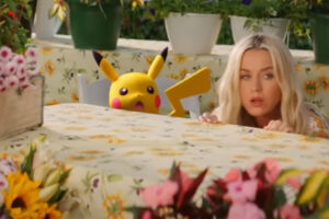 Katy Perry lanza el sencillo oficial de Pokémon 'Electric'