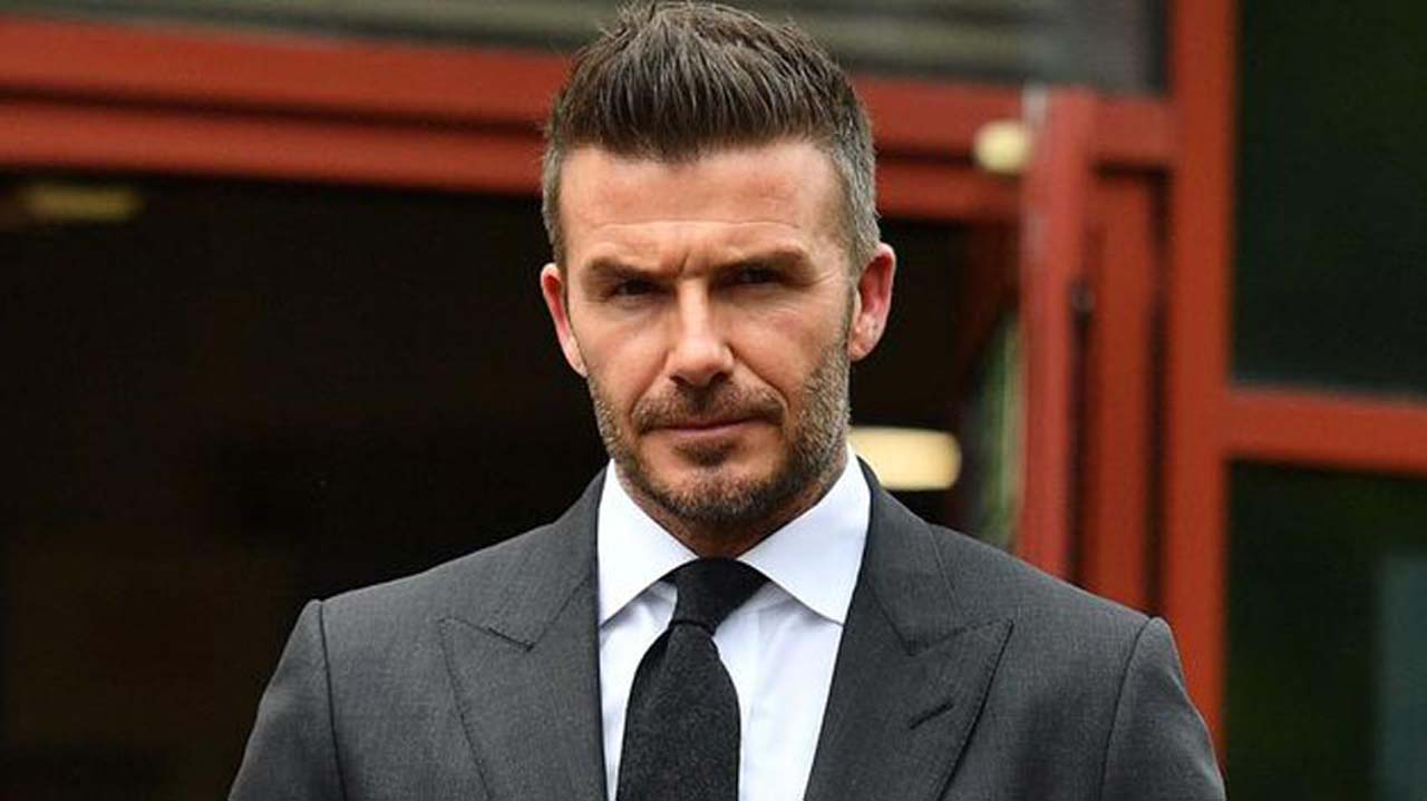 David Beckham ingresó al Salón de la Fama de la Premier League