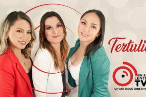 """La """"Tertulia"""" de Delci, Dorena y Andreina ¡Se disfruta mejor """"En El Lente TV""""!"""
