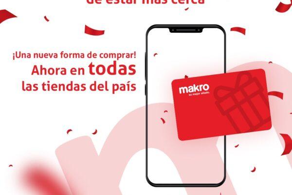Activado uso de tarjetas de regalo Makro en toda su red de tiendas