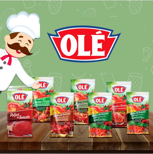 Salsas de tomate Olé, sabores envasados con mucha sazón y practicidad